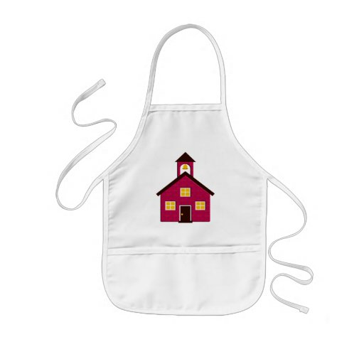 Little Red Schoolhouse Aprons