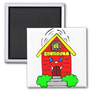 Little Red Schoolhouse Fridge Magnets
