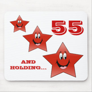 LITTLE RED STAR - 55 MOUSE PAD