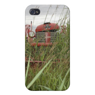 Little Red Tractor iPhone 4 Cover