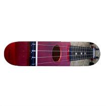 Little Red Ukulele Skateboard Deck