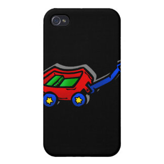 little red wagon iPhone 4 case