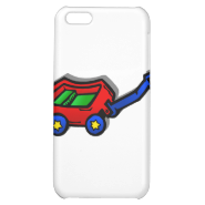 little red wagon iPhone 5C case