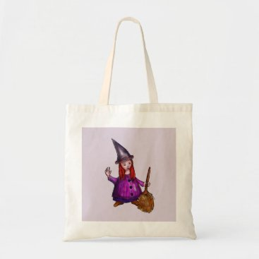 Halloween Themed Little redhaired witch bag
