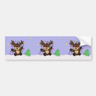 Little Reindeer Bumper Sticker