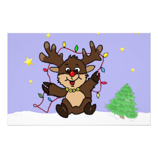 Little Reindeer Stationery
