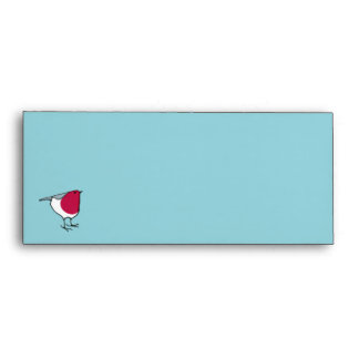 Little Robin grey Letterhead Envelope