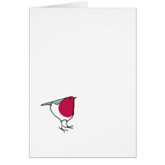 Little Robin Note Card