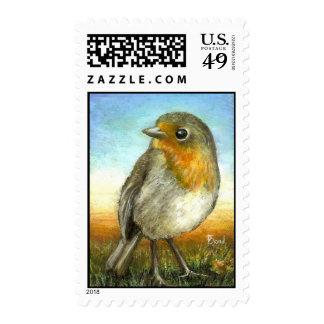 Little Robin Stamp