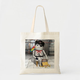 Little Robo-x9 for  Talk Like A Pirate Day Canvas Bag