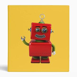 Little Robot 3 Ring Binders