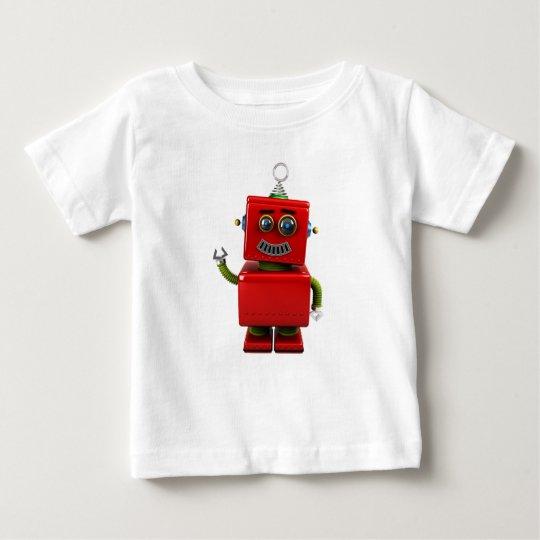 Little Robot Baby T-Shirt