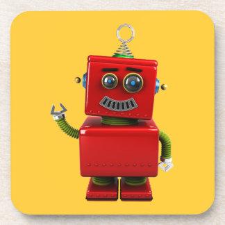 Little Robot Beverage Coaster