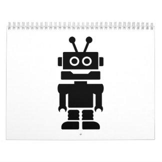 Little robot calendar