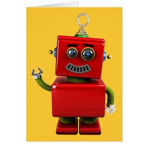 Little Robot Greeting Card