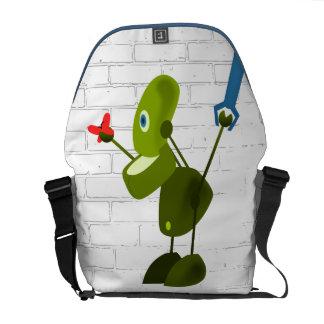 Little Robot Messenger Bag