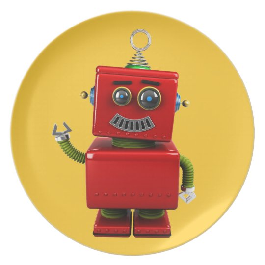 Little Robot Plate