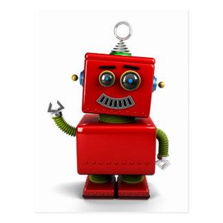 Little Robot Postcard