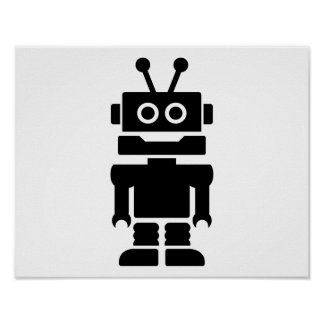 Little robot posters