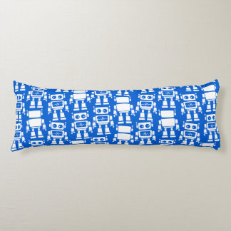 Little robots body pillow