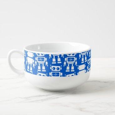adamfahey Little robots soup mug