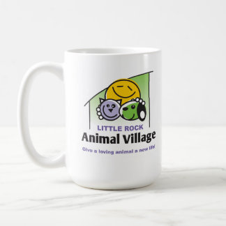 Little Rock Animal Village Coffee Mug