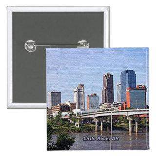 Little Rock Arkansas Button