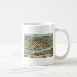 Little Rock Arkansas in 1871 Coffee Mug