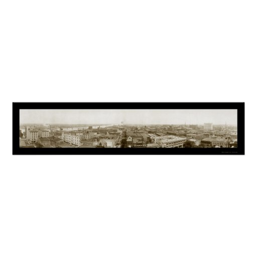 Little Rock Arkansas Photo 1910 Print