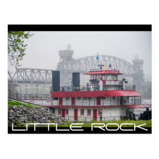 little rock arkansas postcard