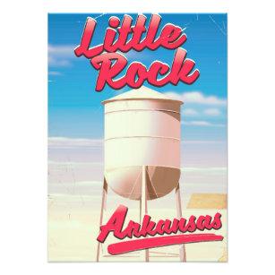 20x30 Little Rock Arkansas 1871 Historic Panoramic Town Map