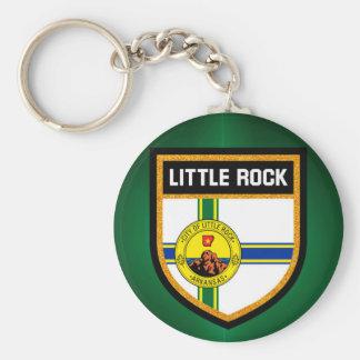 Little Rock Flag Keychain
