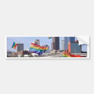 Little Rock Flying Pride Bumper Sticker