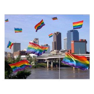 Little Rock Flying Pride Postcard