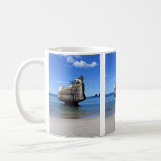Little Rock Hahei Cathedral Cove New Zealand Coffee Mug