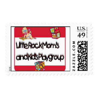 Little Rock Mom's and Kids Playgroup Postage Stamp