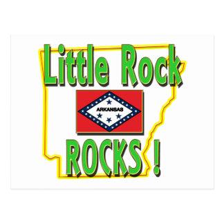 Little Rock Rocks ! (green) Postcard