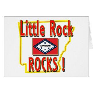 Little Rock Rocks ! (red) Card
