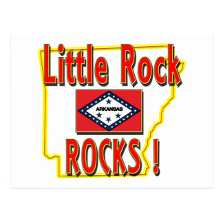 Little Rock Rocks red Post Cards