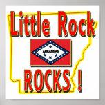 Little Rock Rocks ! (red) Posters