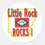 Little Rock Rocks ! (red) Stickers