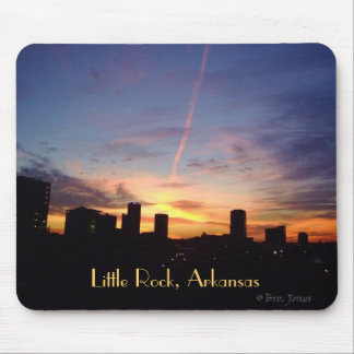 Little Rock Sunset Mouse Pad