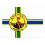 Little Rock, United States flag Postcard