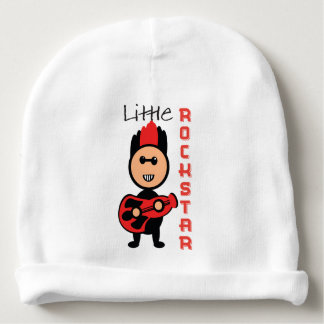 Little rockstar baby beanie