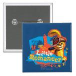 Little Romancer 2 Inch Square Button