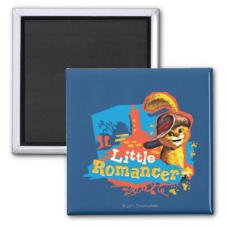 Little Romancer 2 Inch Square Magnet