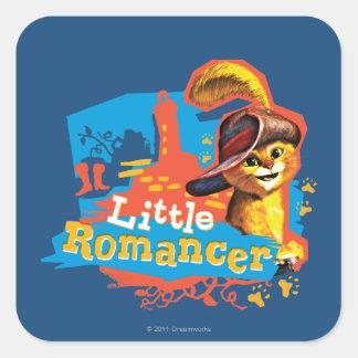 Little Romancer Square Sticker