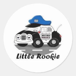 Little Rookie Classic Round Sticker