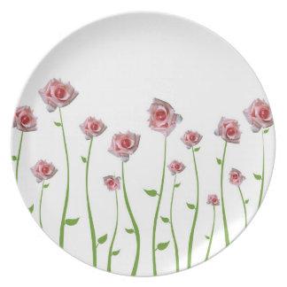 Little Roses Plate