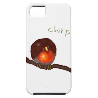 Little round Robin chirping chirp Case For The iPhone 5